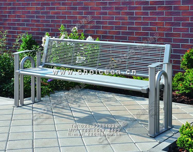 > 金属钢条公园长椅,钢结构椅腿