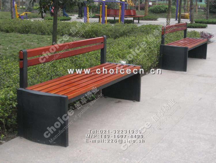 悠然雅叙户外休息座椅,钢板椅腿-信卓·中国公共座椅