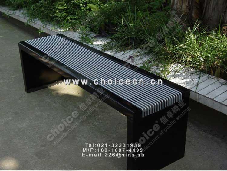 景观凳的结构示意图