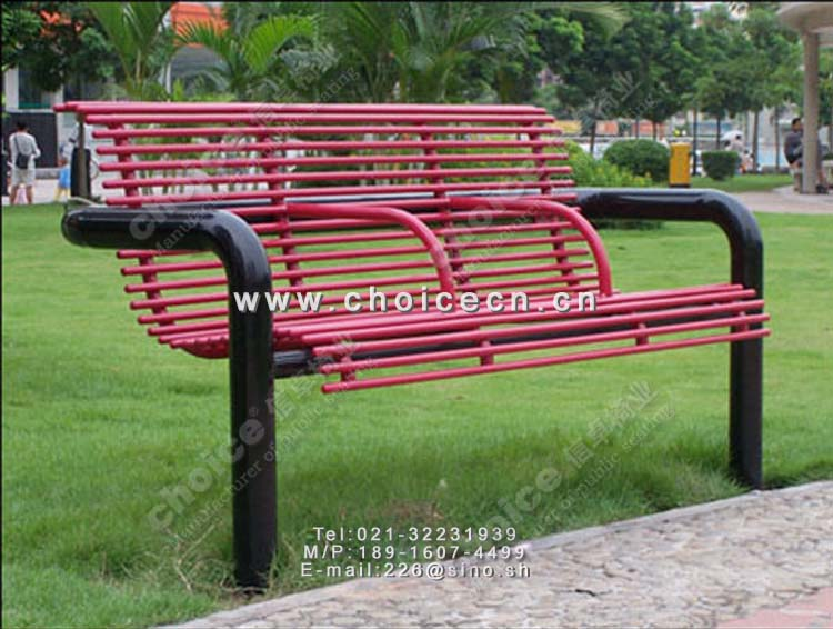 金属公园休息椅-信卓·中国公共座椅第一品牌