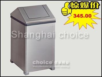 金属上投垃圾桶(出口美国)-信卓·中国公共座椅第一